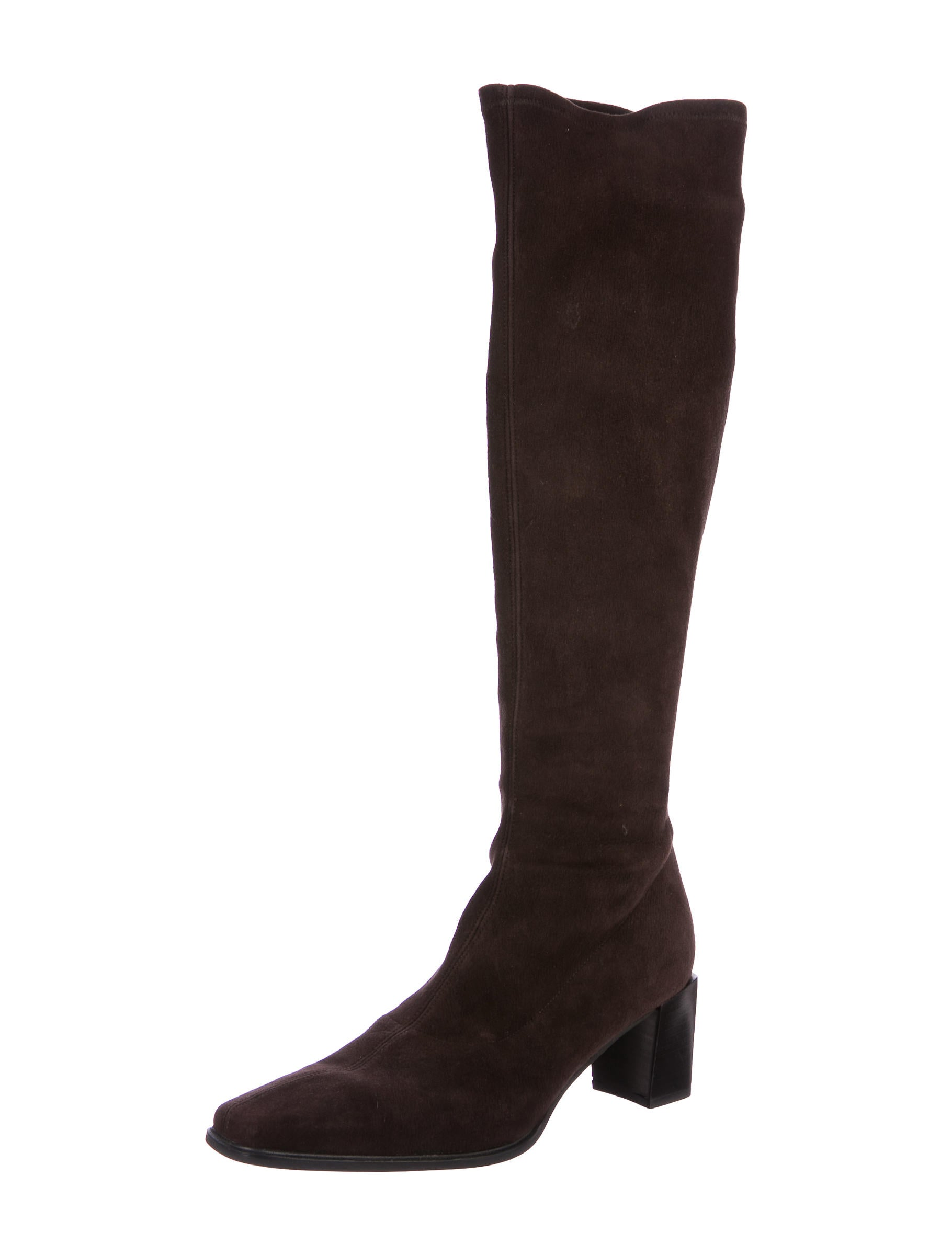 stuart weitzman suede knee high boots shoes wsu35830