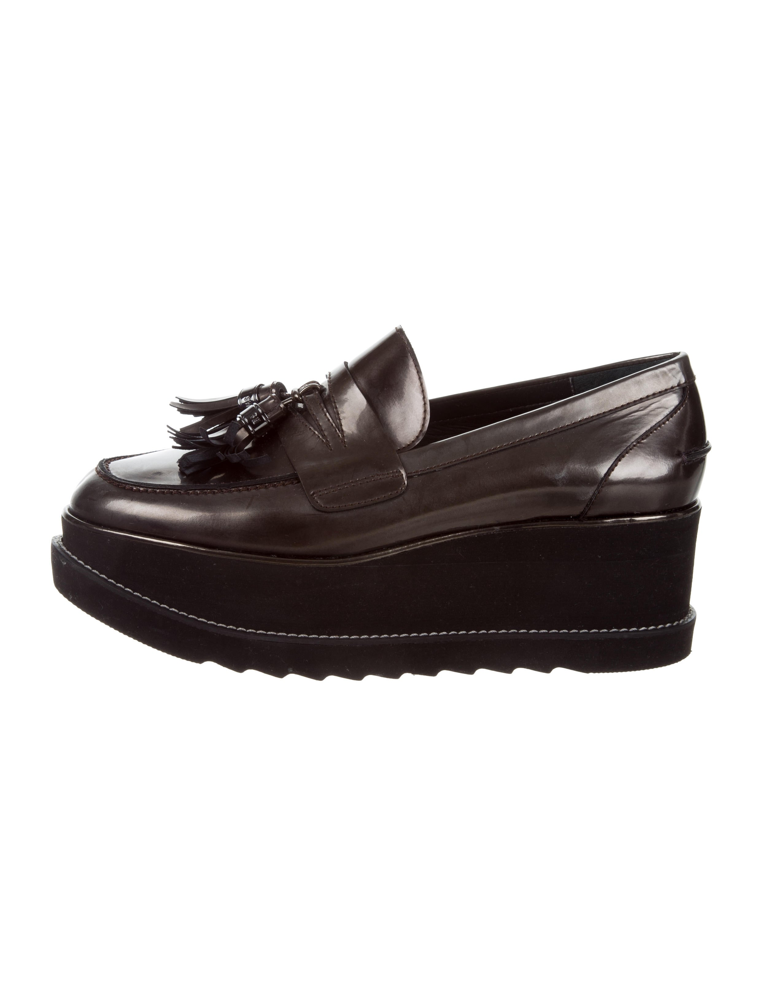 70175c089b2 Stuart Weitzman Manila Platform Loafers - Shoes - WSU36788