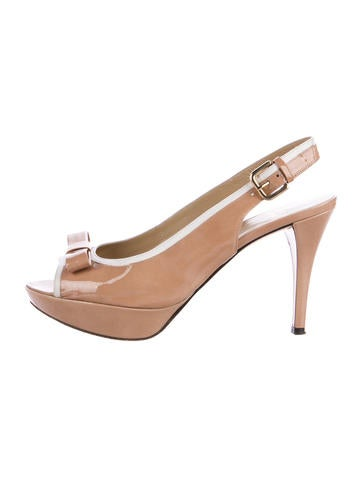 Stuart Weitzman Leather Bow-Adorned Pumps buy cheap many kinds of pay with visa sale online outlet the cheapest cheap price in China RLw3A3