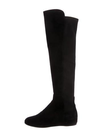Stuart Weitzman Wedge Knee Boots None