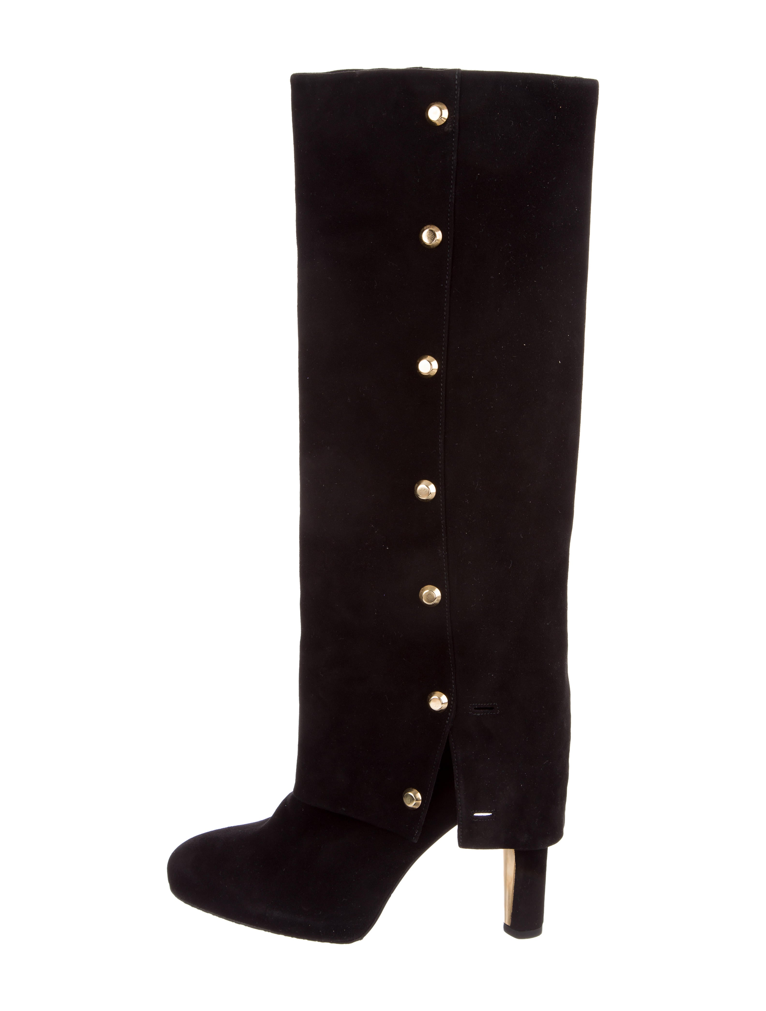 clearance original with credit card for sale Stuart Weitzman Spats Knee-High Boots 100% guaranteed cheap price cheap sale classic uNl72