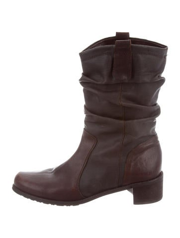 cheap Manchester outlet cheap prices Stuart Weitzman Leather Mid-Calf Boots fake for sale sale comfortable mTSK8PvWI