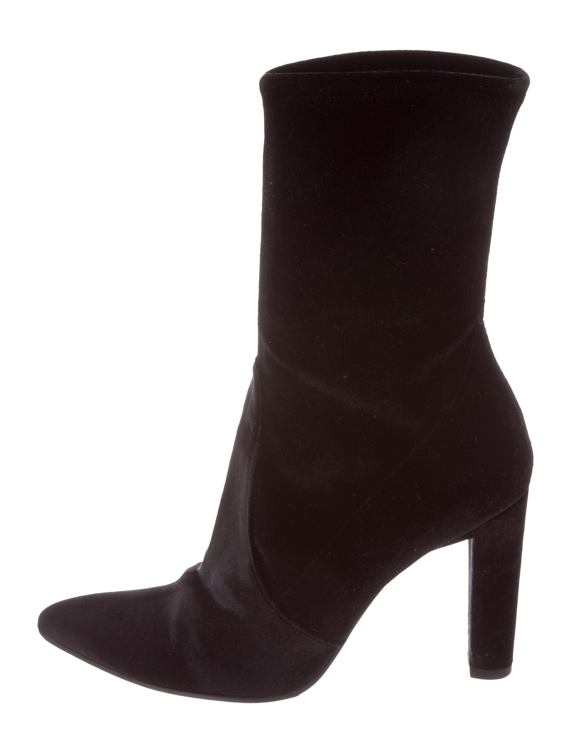 Stuart Weitzman Velvet Mid-Calf Boots websites sale online marketable for sale websites cheap online uuUq43