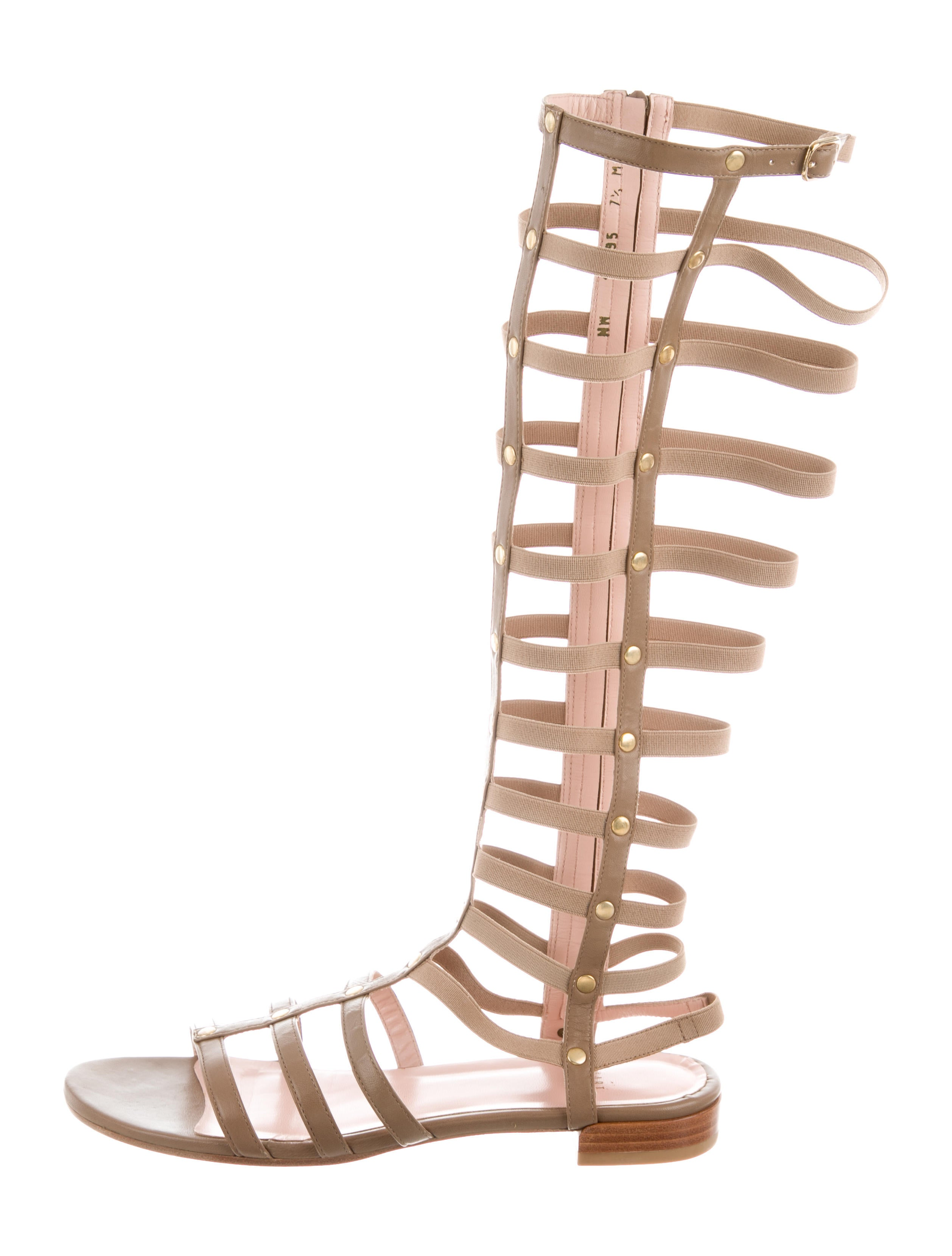 official for sale Stuart Weitzman Leather Gladiator Sandals w/ Tags huge surprise cheap online reliable cheap online xNyFs9