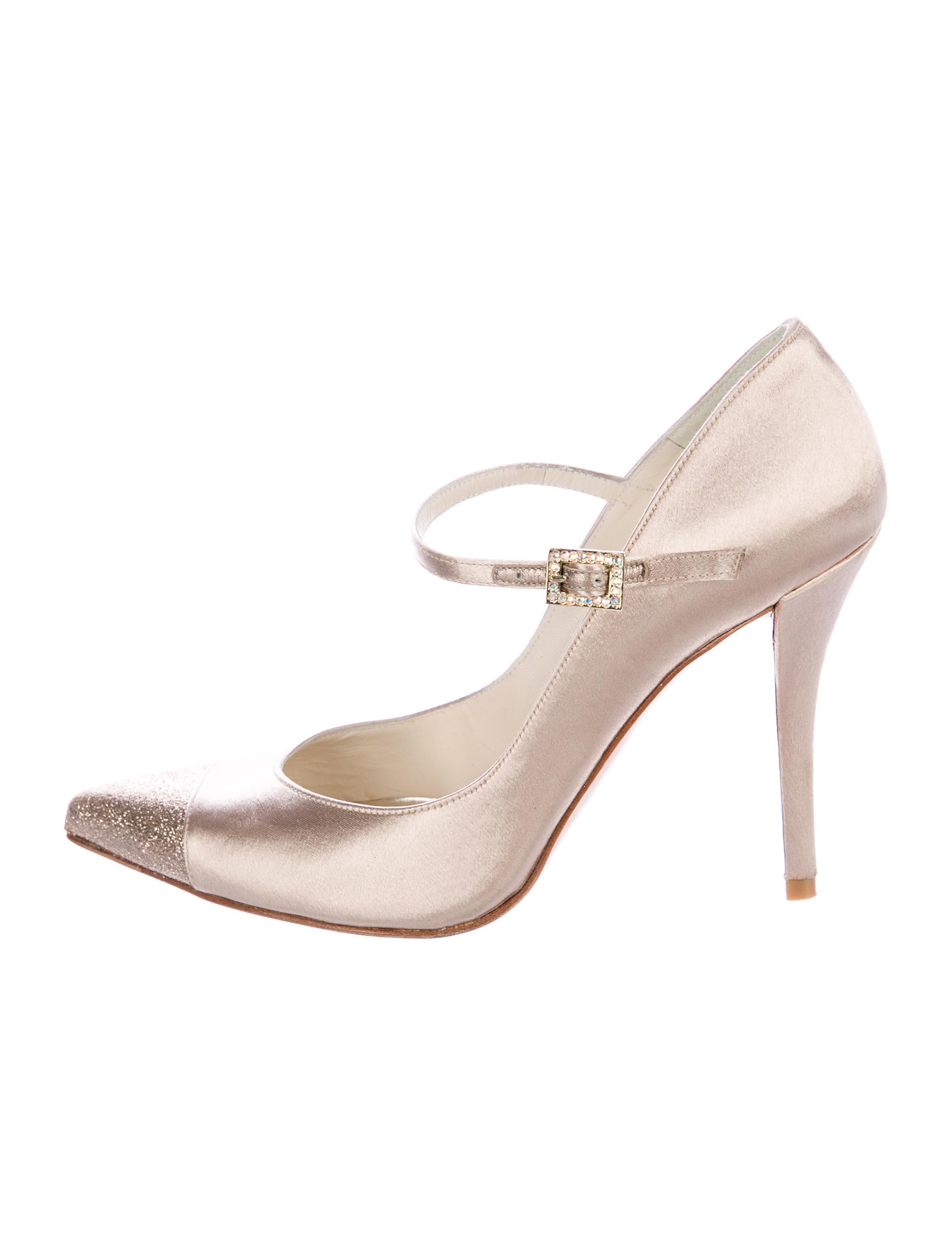discount purchase release dates sale online Stuart Weitzman Satin Mary Jane Pumps T5mBl6mn