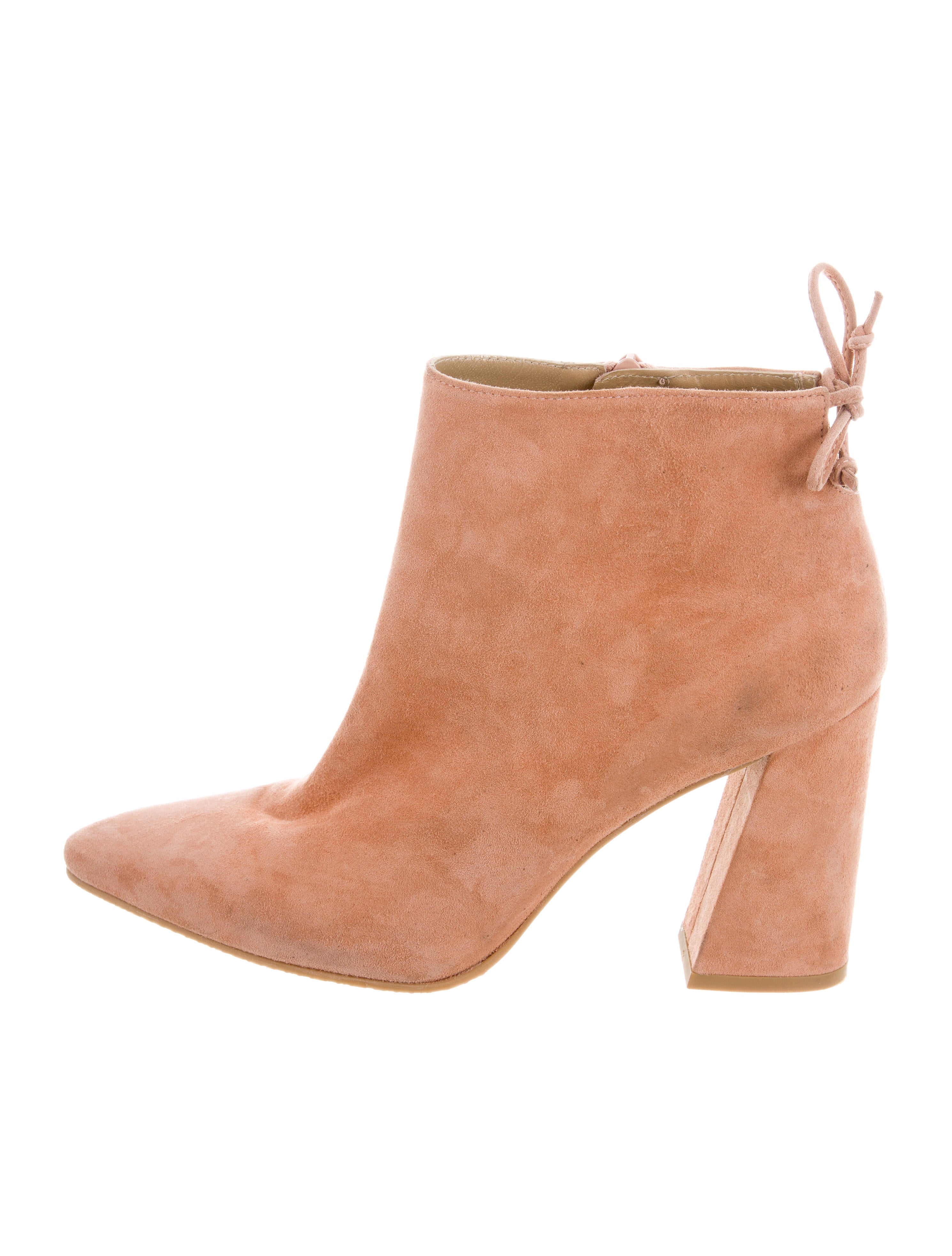 454c2eff314 Stuart Weitzman Grandiose Pointed-Toe Ankle Boots - Shoes - WSU42257 ...
