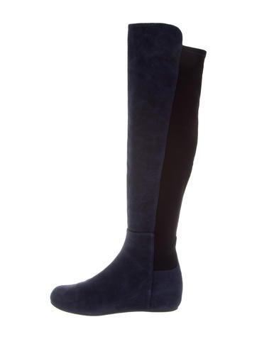 Stuart Weitzman Suede Knee-High Boots None