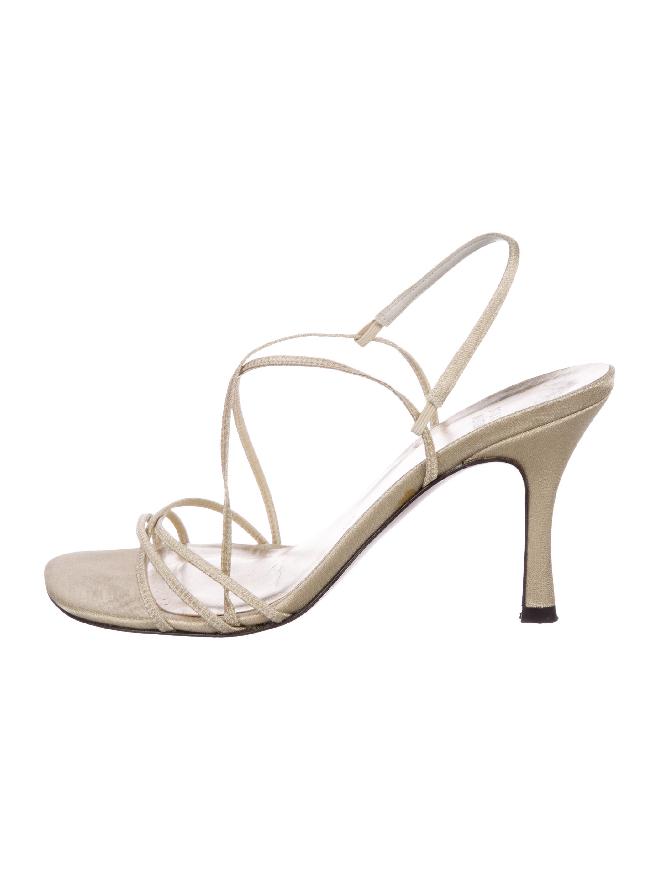 Stuart Weitzman Square-Toe Multistrap Sandals 100% authentic cheap price for nice best place to buy online affordable online high quality online XCnv3xp