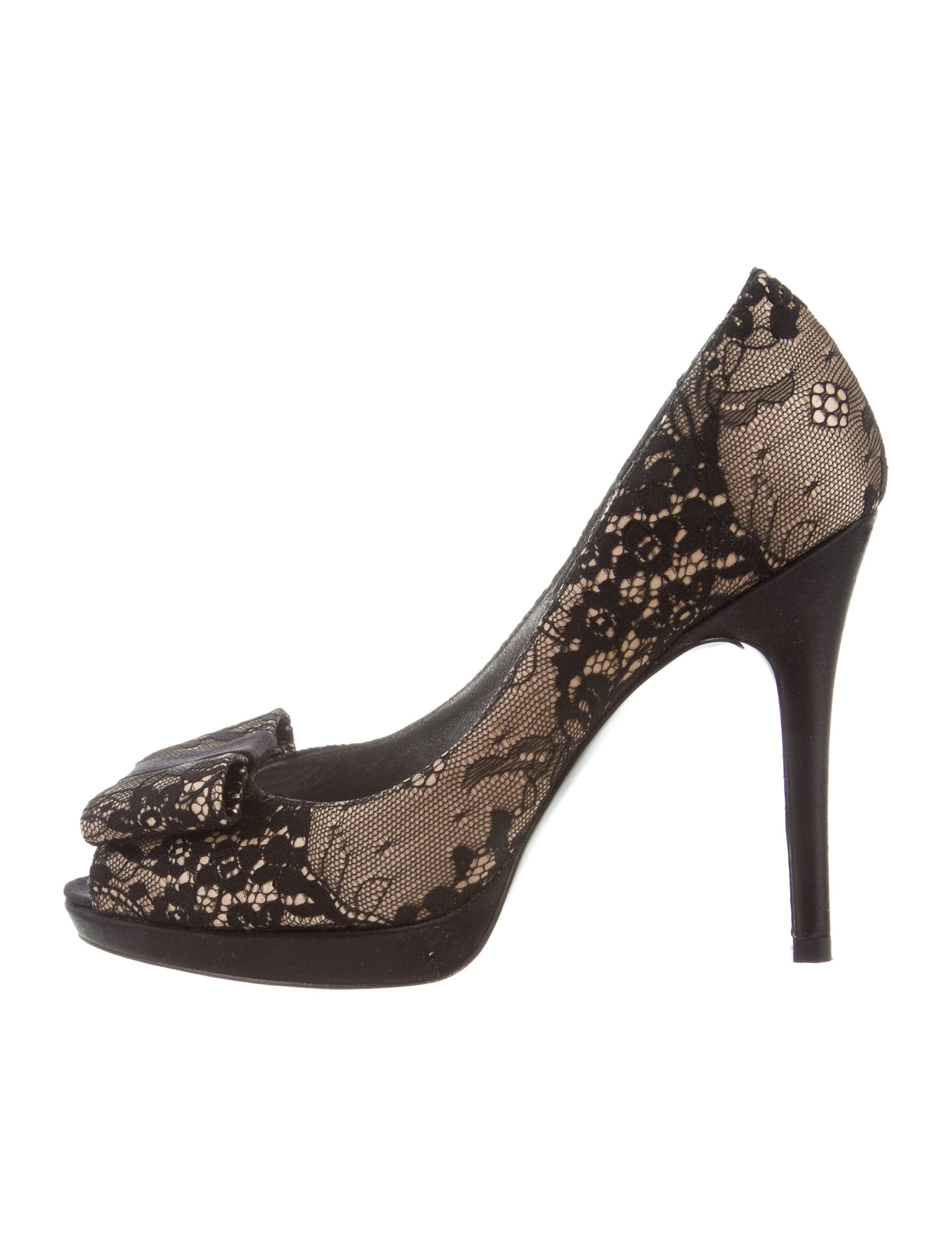 clearance popular countdown package online Stuart Weitzman Evebowright Lace Pumps w/ Tags cheap prices reliable outlet nicekicks clearance store sale online JT8Bf4VdRI