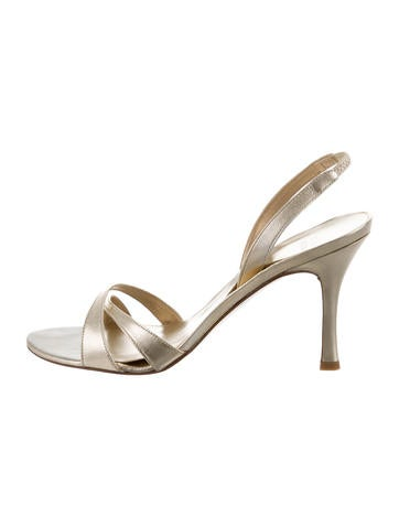 outlet visit many kinds of cheap price Stuart Weitzman Iridescent Slide Sandals w/ Tags cheap eastbay IWLw33