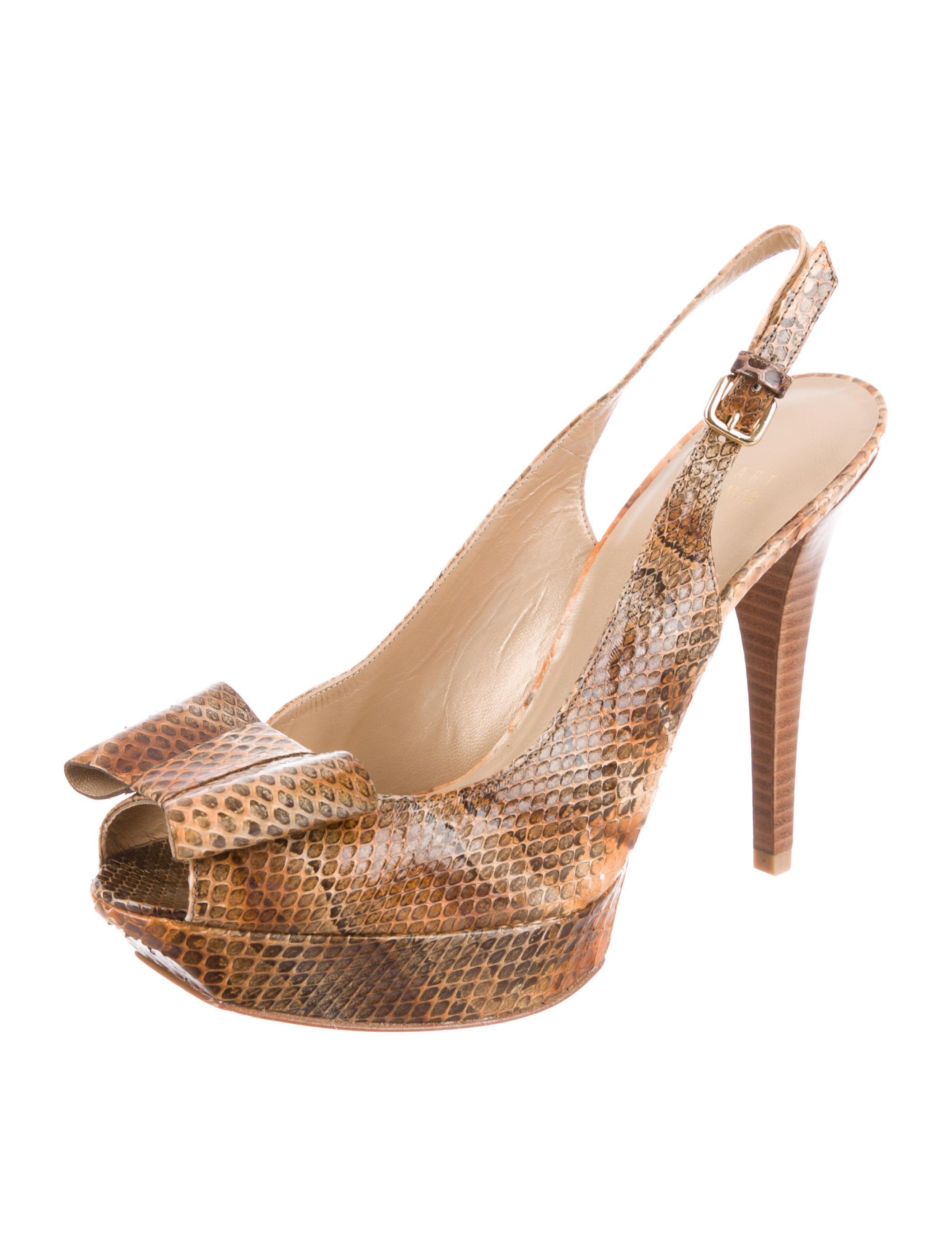 cheap 2014 Stuart Weitzman Bowrey Snakeskin Pumps w/ Tags online store outlet footlocker outlet fake sale explore LvBLBZD