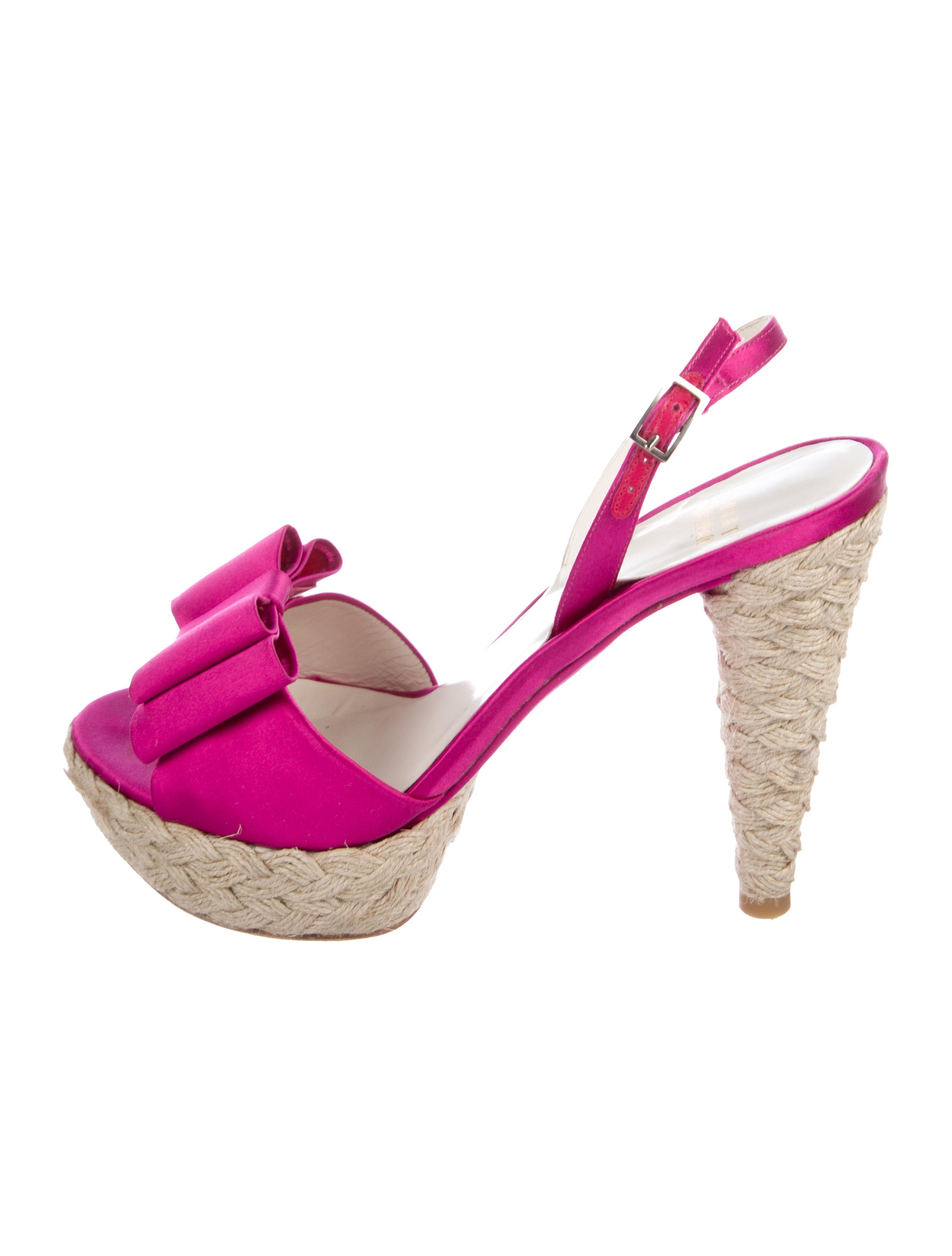 Stuart Weitzman Bogus Satin Sandals outlet online clearance online official site buy cheap comfortable outlet with paypal order 5qNfpA