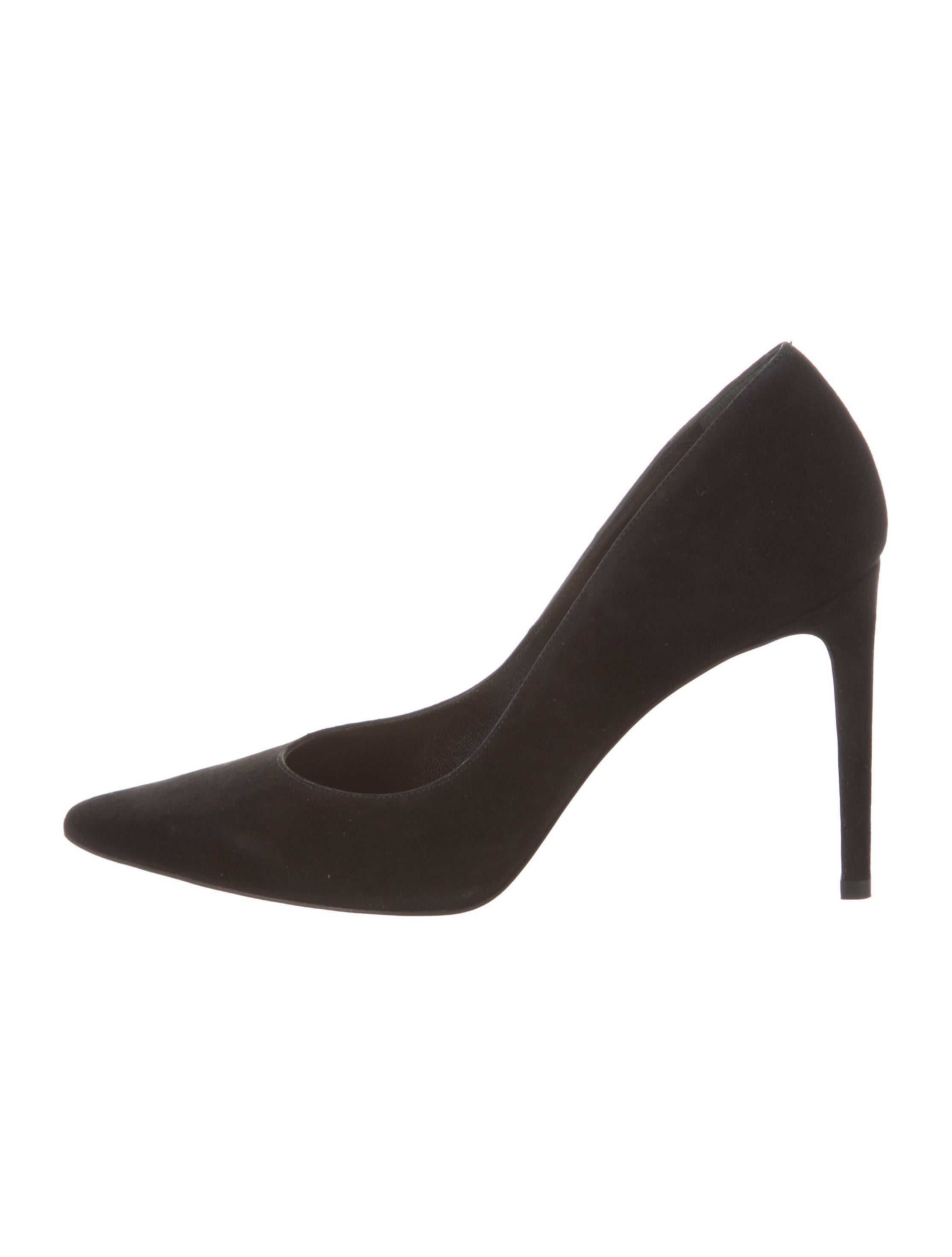 Stuart Weitzman Suede Pointed-Toe w/ Tags cheap amazing price 7lValySFK3