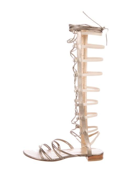 4c09e04daae5 Stuart Weitzman Knee-High Gladiator Sandals - Shoes - WSU72988
