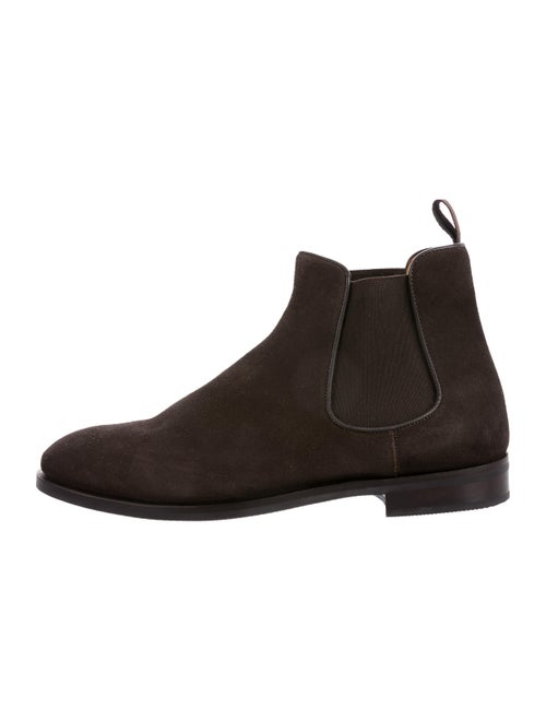 Suitsupply Suede Ankle Boots brown