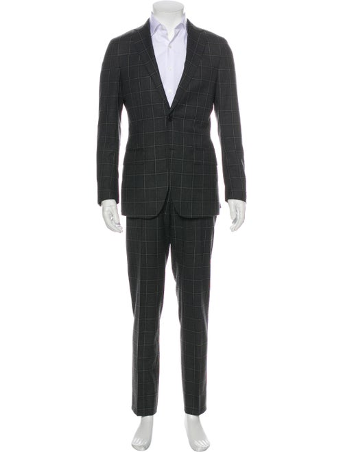 Suitsupply Plaid Two-Piece Suit grey