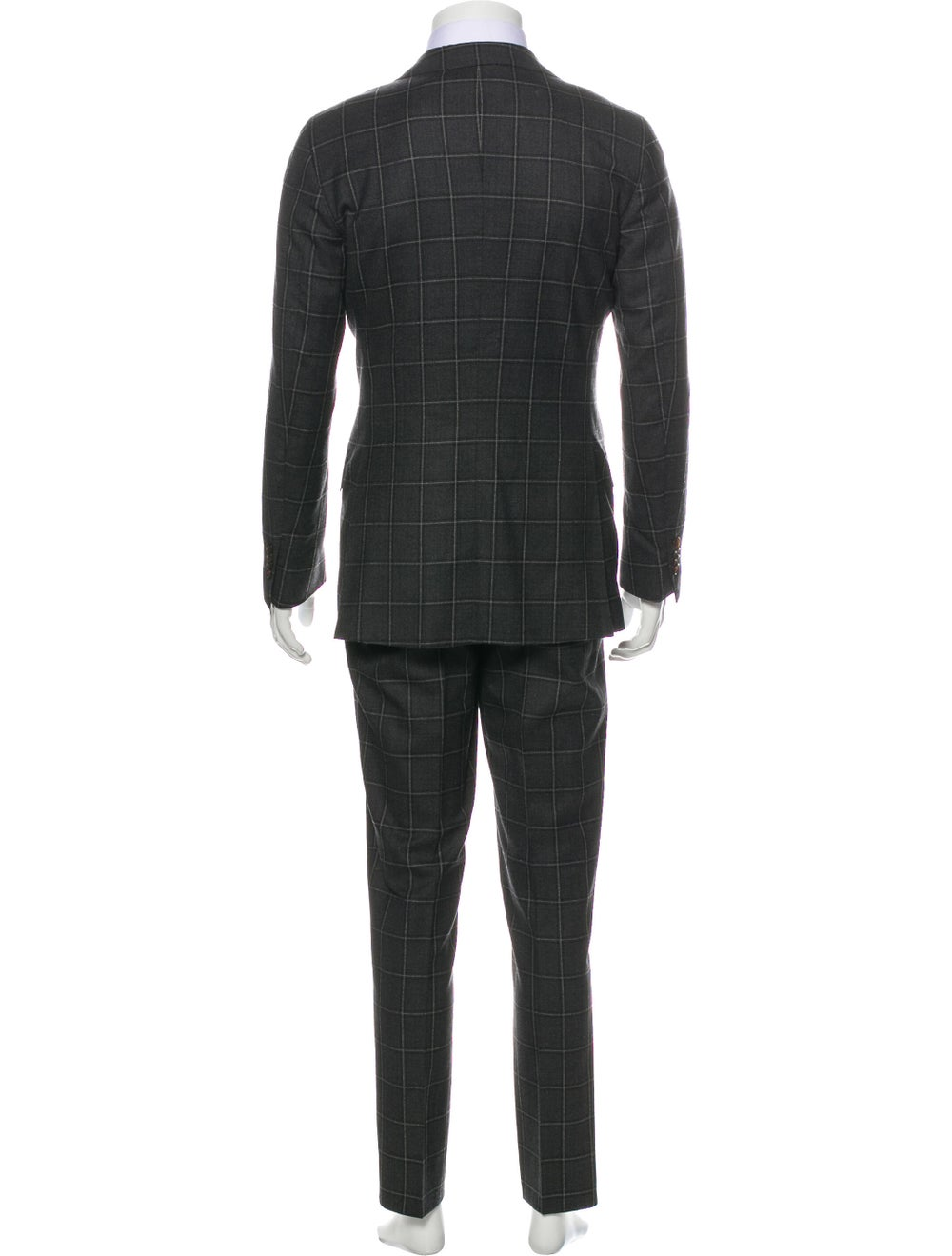 Suitsupply Plaid Two-Piece Suit grey - image 3