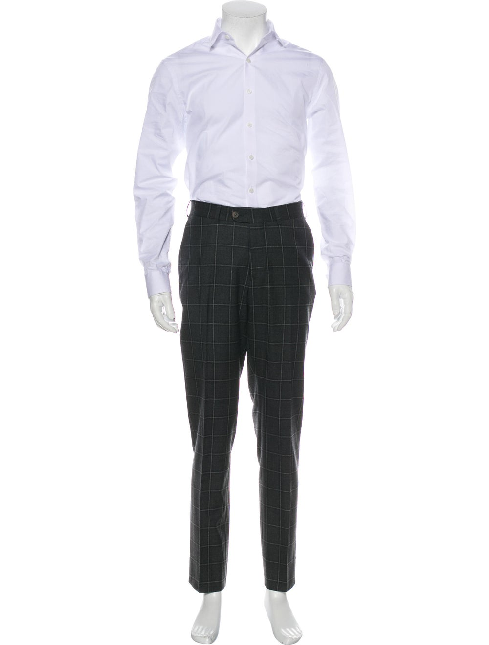 Suitsupply Plaid Two-Piece Suit grey - image 4