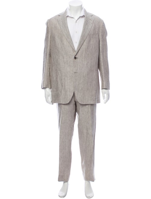 Suitsupply Linen Two-Piece Suit