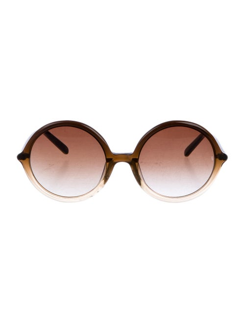 Sunday Somewhere Tilda Round Sunglasses Brown