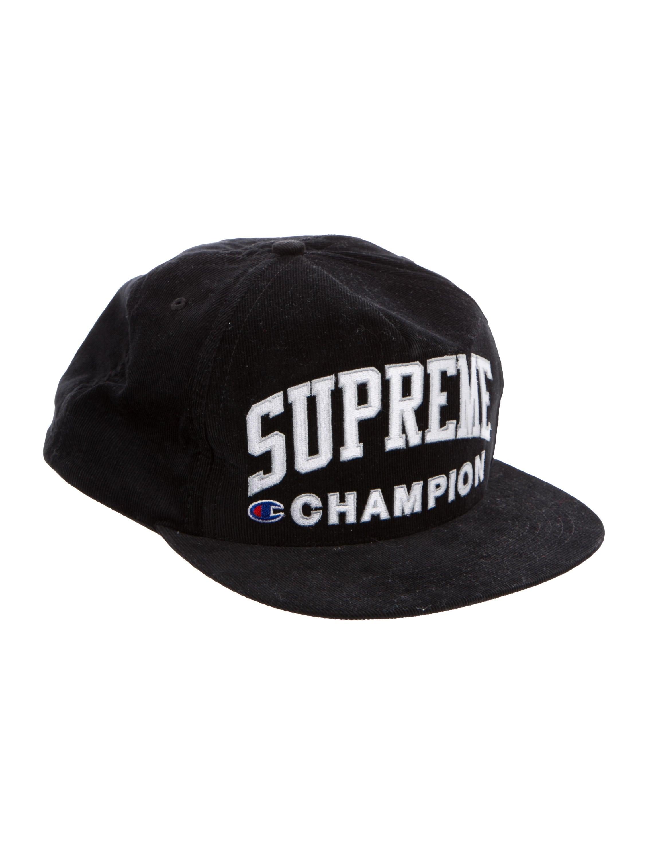 944549bd72f Supreme x Champion Logo Corduroy Hat - Accessories - WSUPC20030 ...
