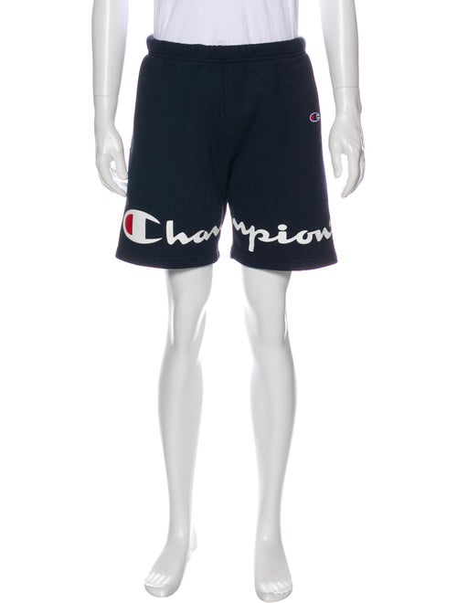 Supreme x Champion 2018 Athletic Shorts Blue