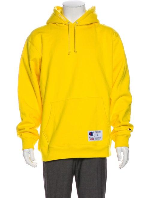 Supreme x Champion 2018 Logo Hoodie Yellow
