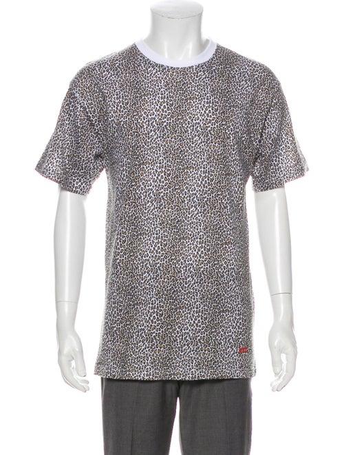 Supreme x Hanes 2019 Leopard Tagless T-Shirt Leopa