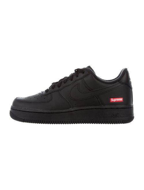 Supreme x Nike Air Force 1 Sneakers w/ Tags Black