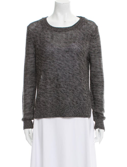 360 Sweater Scoop Neck Sweater Black