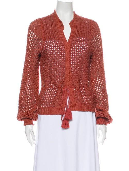 360 Sweater V-Neck Sweater Orange