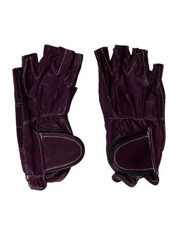 Sermoneta Gloves Fingerless Leather Gloves None