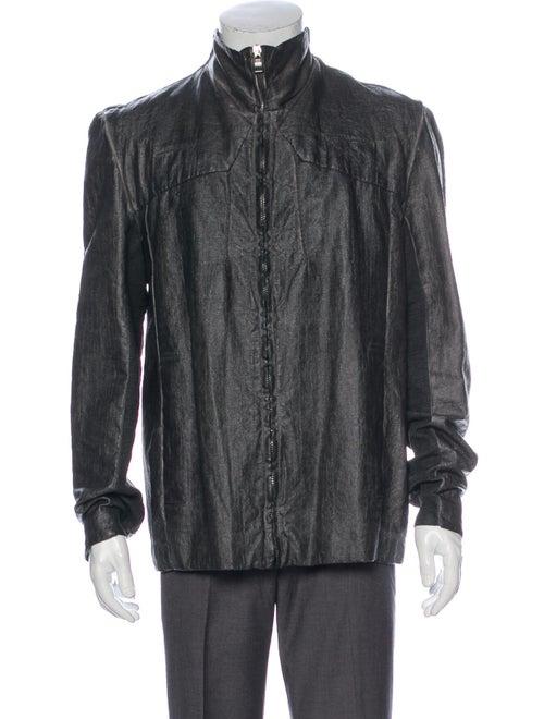 Transit Linen Jacket Silver