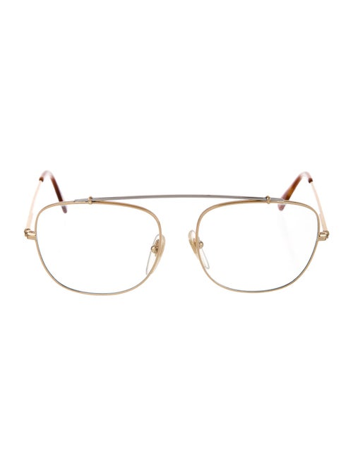Super by Retrosuperfuture Clear Square Eyeglasses
