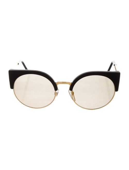 Super by Retrosuperfuture Round Tinted Sunglasses