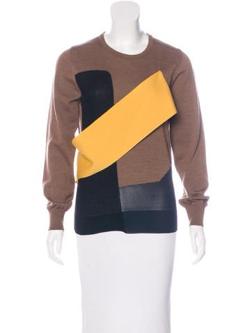 Toga Wool Appliqué Sweater None