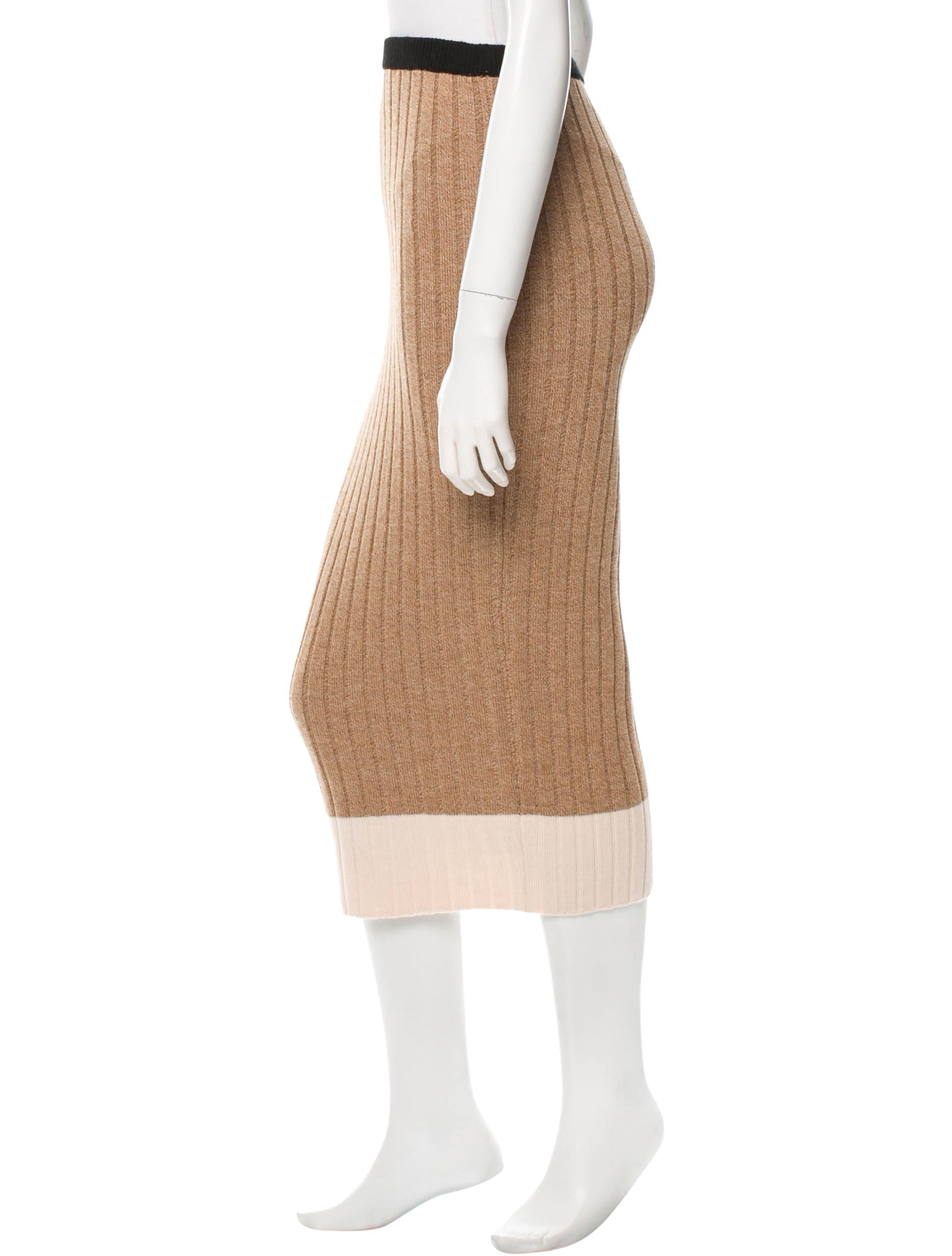 torn by ronny kobo wool midi pencil skirt clothing