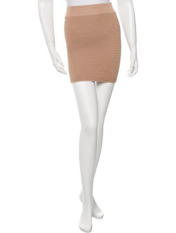 Torn by Ronny Kobo Ribbed Mini Skirt w/ Tags None