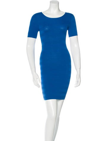 Torn by Ronny Kobo Bodycon Mini Dress None