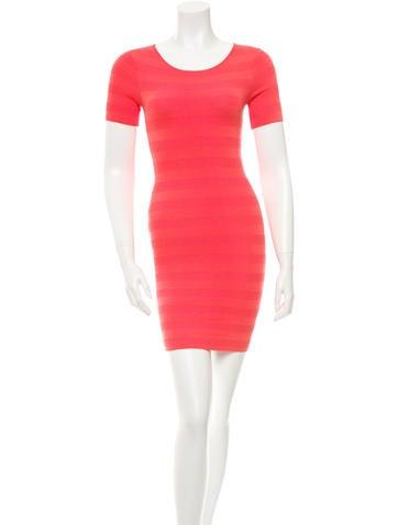 Torn by Ronny Kobo Short Sleeve Sheath Dress w/ Tags None
