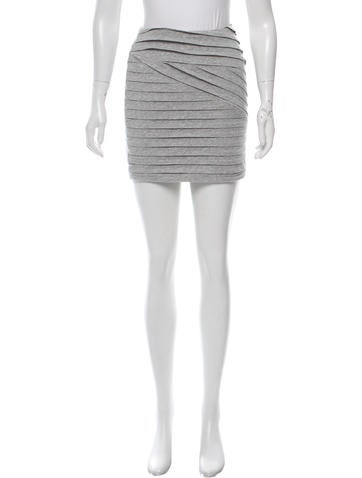 Torn by Ronny Kobo Pleated Mini Skirt None