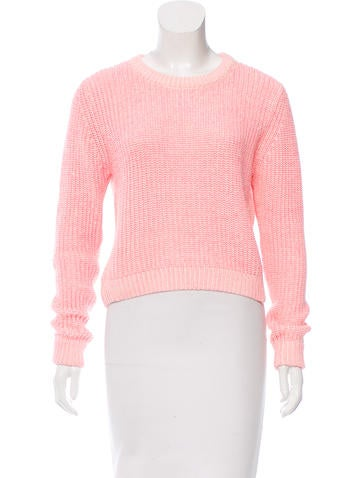 Torn by Ronny Kobo Colorblock Crew Neck Sweater None