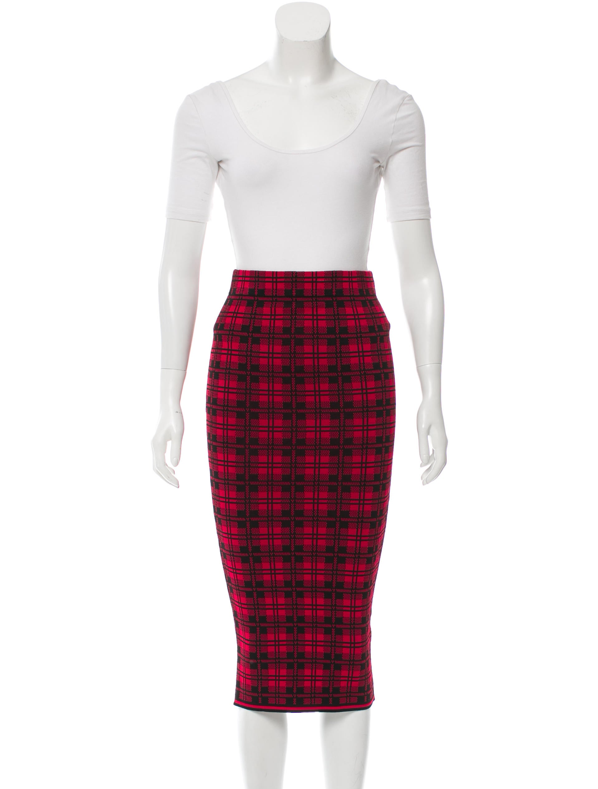 Plaid Skirt Set 56
