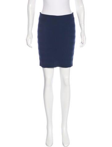 Torn by Ronny Kobo Knit Knee-Length Skirt None