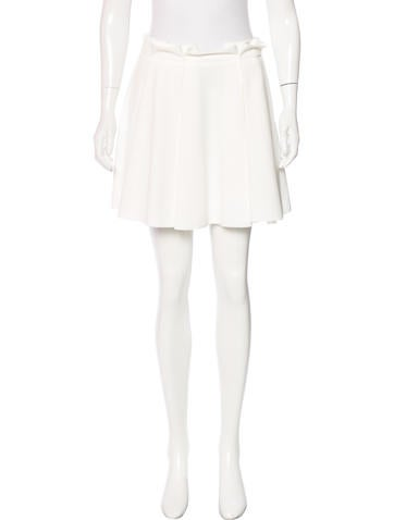 Torn by Ronny Kobo Pleated Mini Skirt w/ Tags None