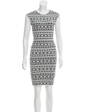 Torn by Ronny Kobo Patterned Mini Dress w/ Tags None