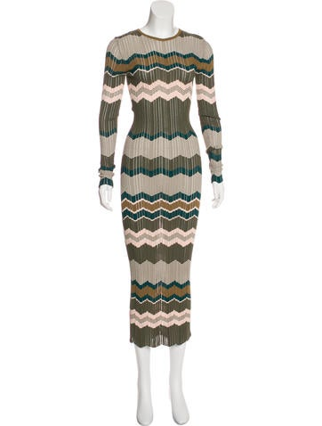 Torn by Ronny Kobo Patterned Maxi Dress None
