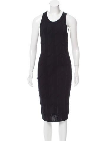 Torn by Ronny Kobo Sleeveless Bodycon Dress None