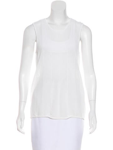 Torn by Ronny Kobo Knit Mesh Top None