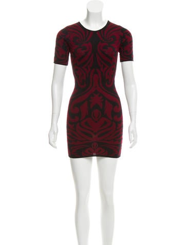 Torn by Ronny Kobo Patterned Bodycon Dress w/ Tags None